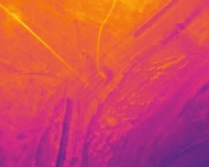 termografia da drone su discarica con confronto linee biogas