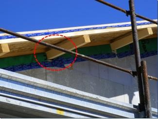 difetti tetto in legno